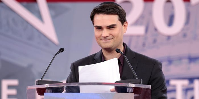 Ben Shapiro sports politics safe space