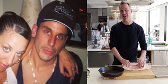 bon appetit EIC adam rapoport in brownface and picture of him cooking
