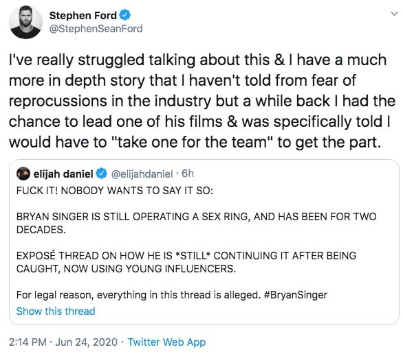 bryan singer accusations