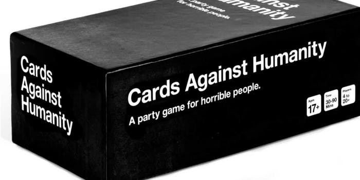 cards against humanity accusations
