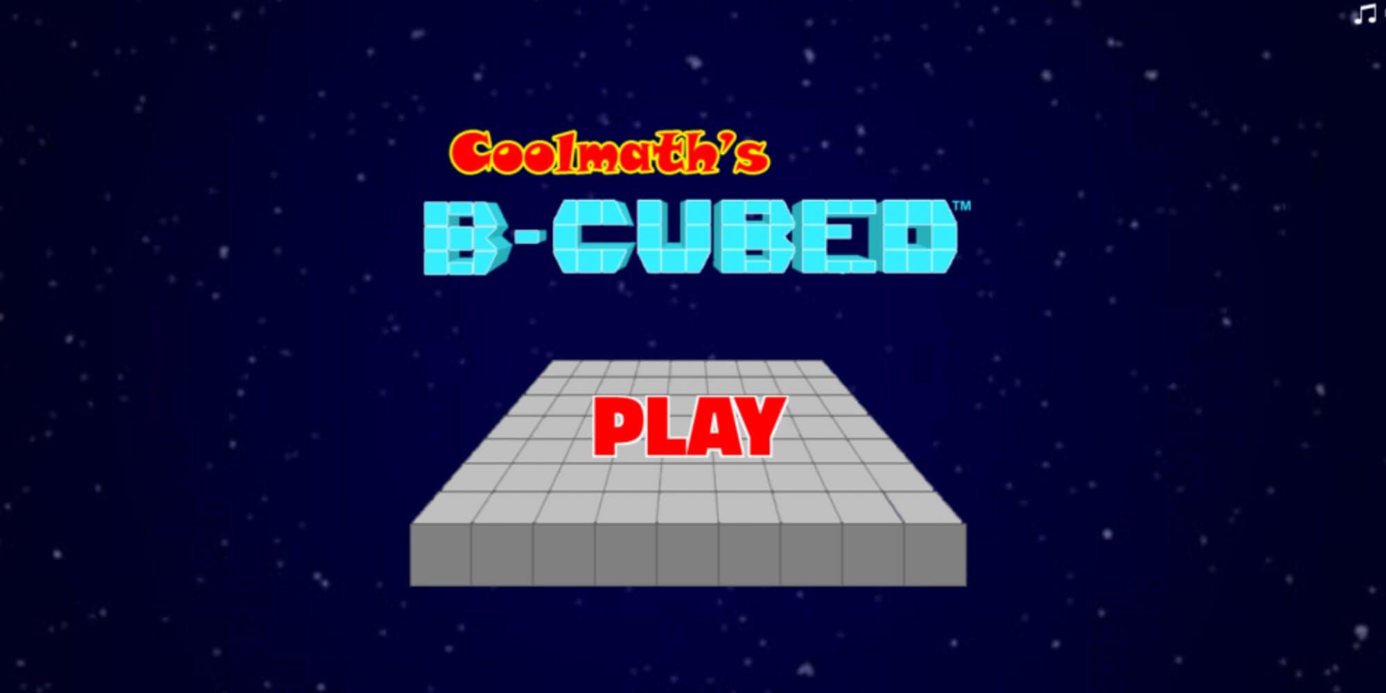 coolmath games b cubed