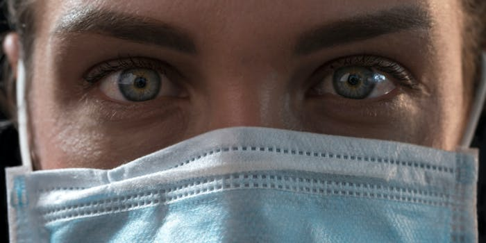 coronavirus mask burqa meme