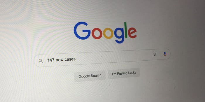 The Google search engine
