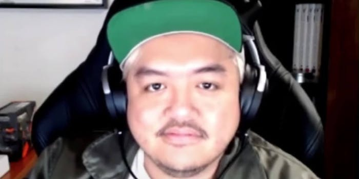 Conservative commentator Ian Miles Cheong