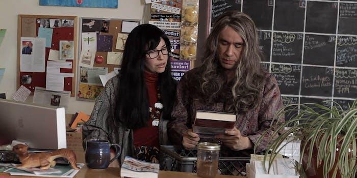 Women and Women First bookstore from Portlandia