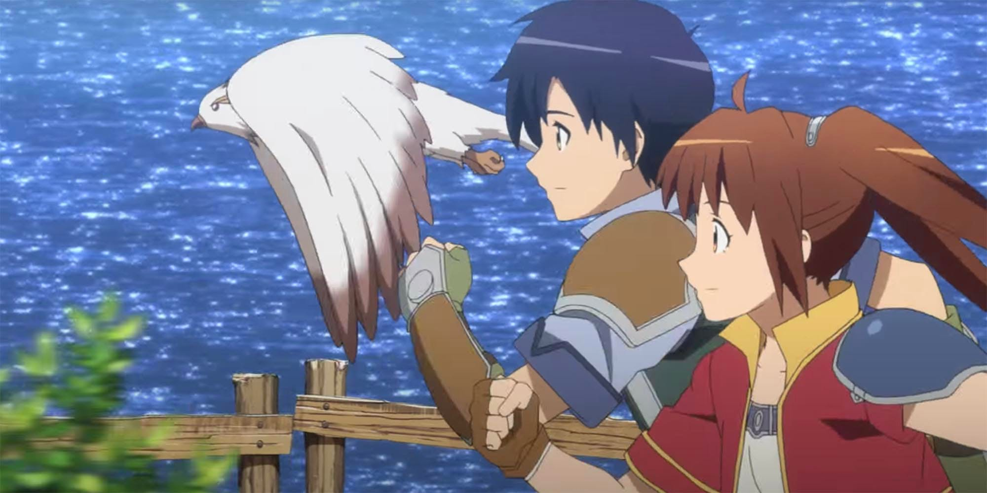 Legend of Heroes: Trails in the Sky anime movie trailer