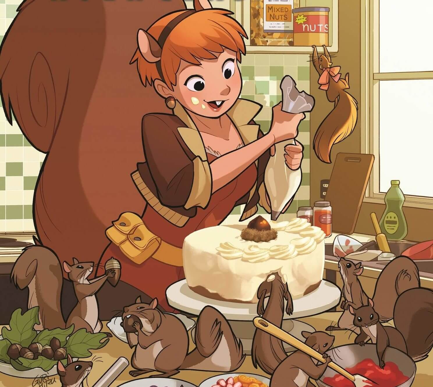 marvel characters squirrel girl