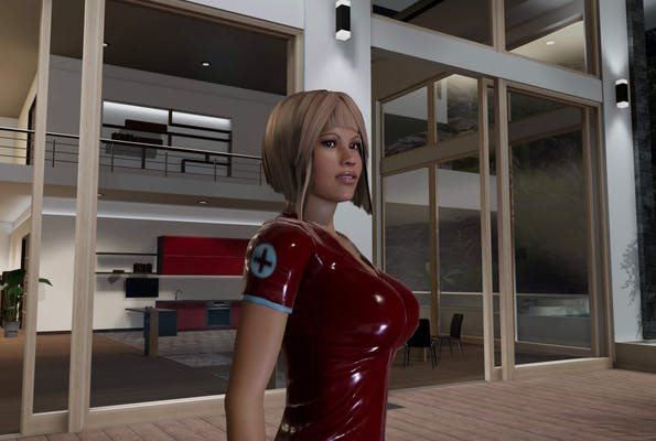 3D sex villa includes plenty of characters with exaggerated features