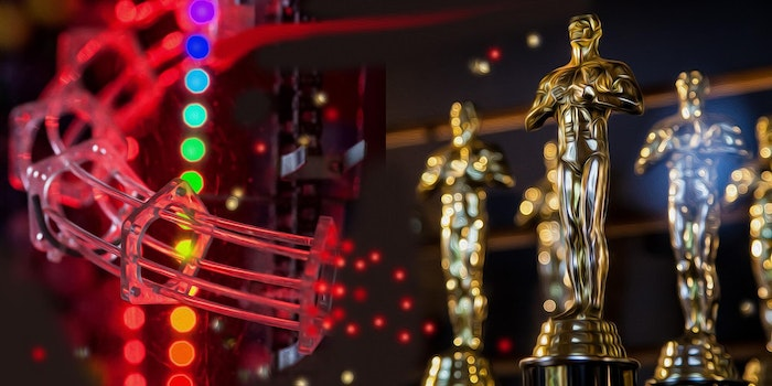 picture of oscars trophies