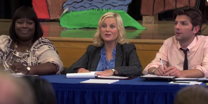 Parks and Recreation meeting