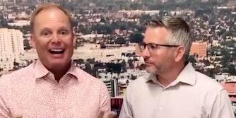 Brendon Zastrow and Pastor Luke Barnett