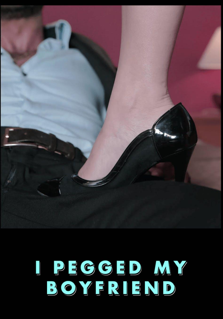 pegging porn