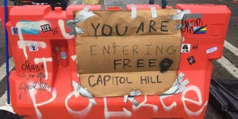 The entrance to Free Capitol Hill in Seattle