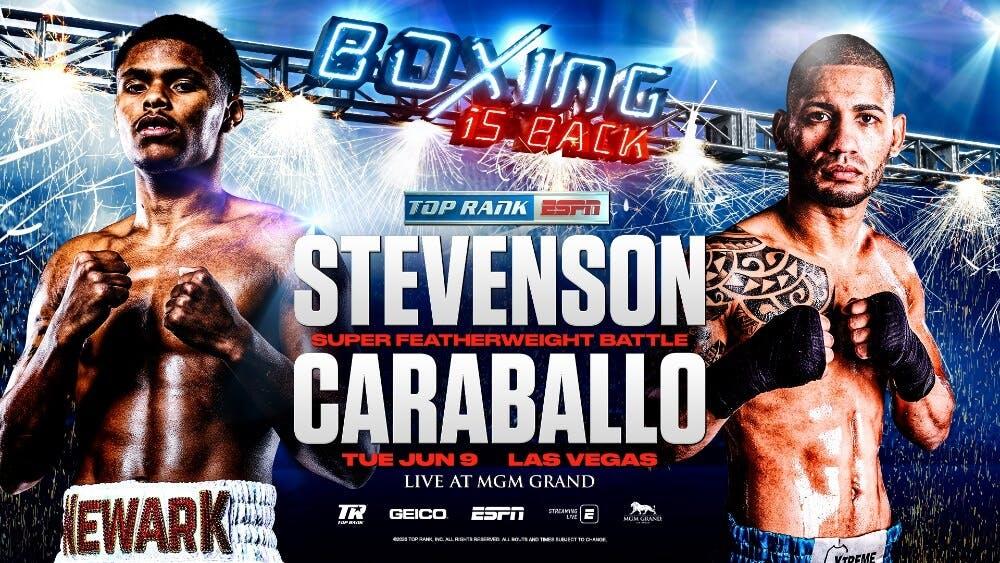 Shakur Stevenson vs Felix Caraballo live stream ESPN boxing