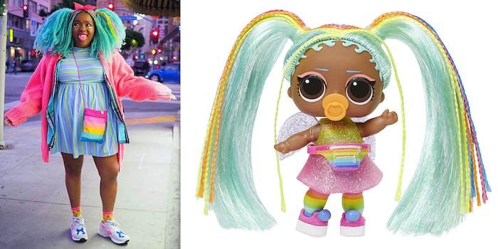 studiomucci lol surprise raver doll