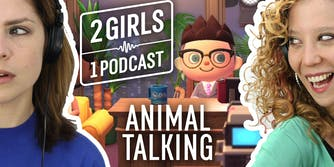 2 girls 1 podcast theme cover