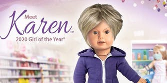 American Girl Doll Karen