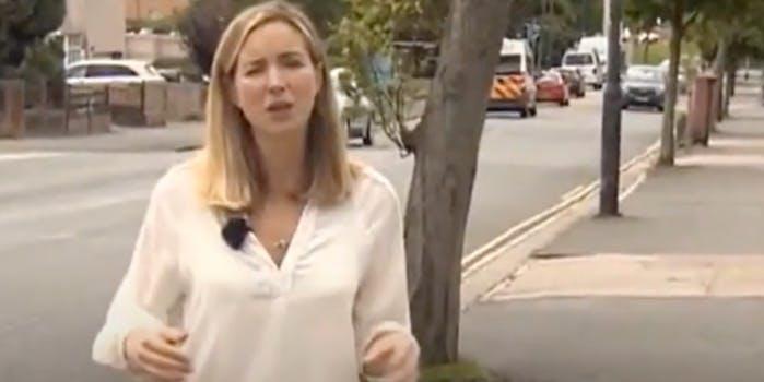 BBC Reporter Fiona Lamdin