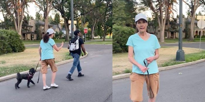 Denver woman seen following a Black man