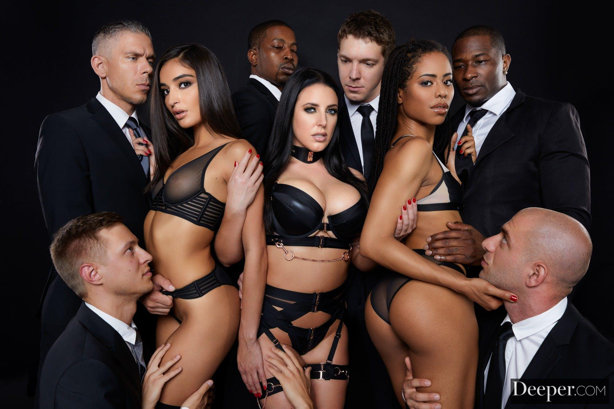 orgy porn kinky group sex deeper Angela White Emily Willis Kira Noir Markus Dupree Mick Blue Isiah Maxwell Rob Piper