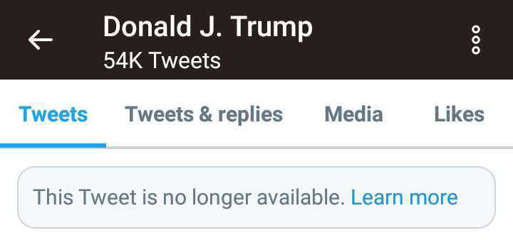 Donald Trump Twitter Hydroxychloroquine video
