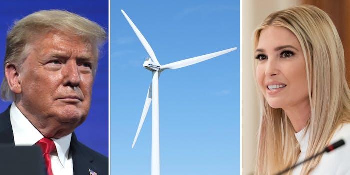 Find Something New Ivanka Trump Donald Trump Wind Turbine