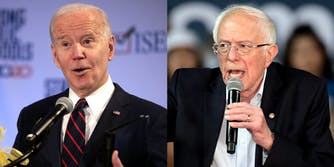 Joe Biden Bernie Sanders Net Neutrality