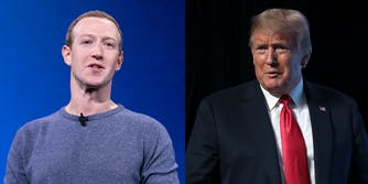 Mark Zuckerberg Donald Trump Secret Deal
