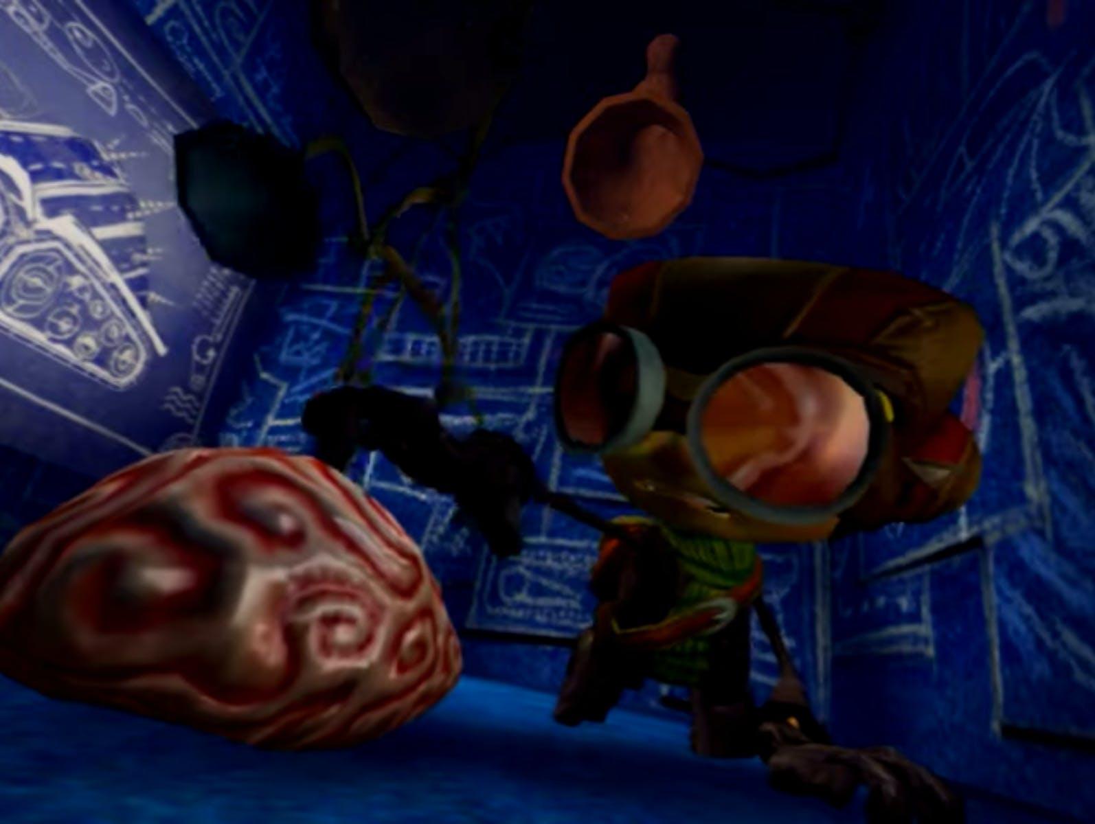 Psychonauts - brain