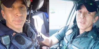 Police officer Sam Lopez from Tacoma Police Department on TikTok