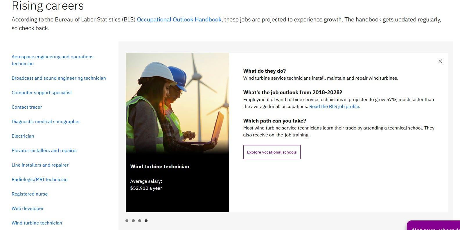 Wind Turbine Technician Find Something New Ivanka Trump Donald Trump