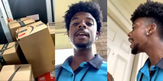 amazon deliverer fired complaining video