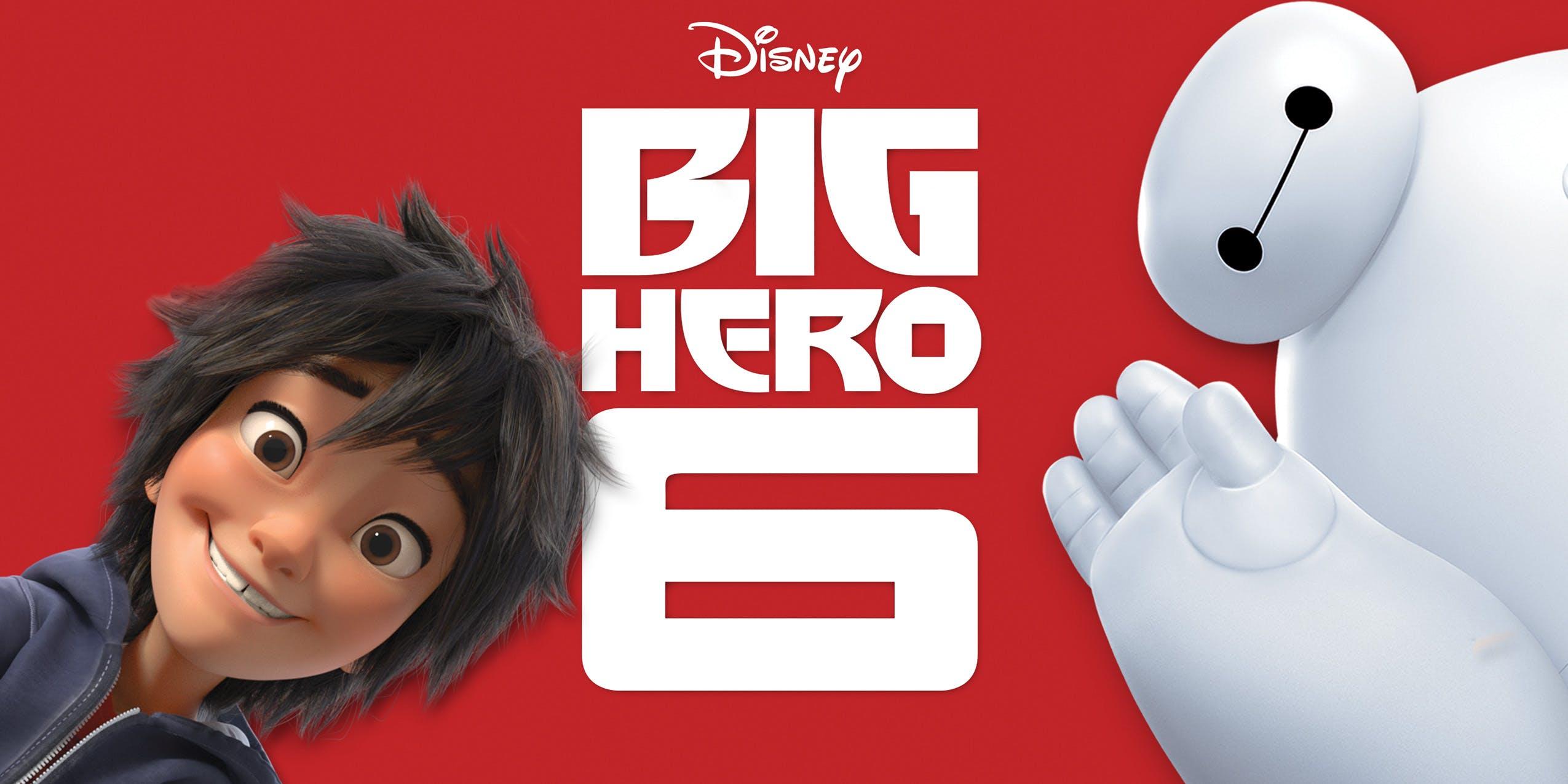best movies disney plus big hero 6