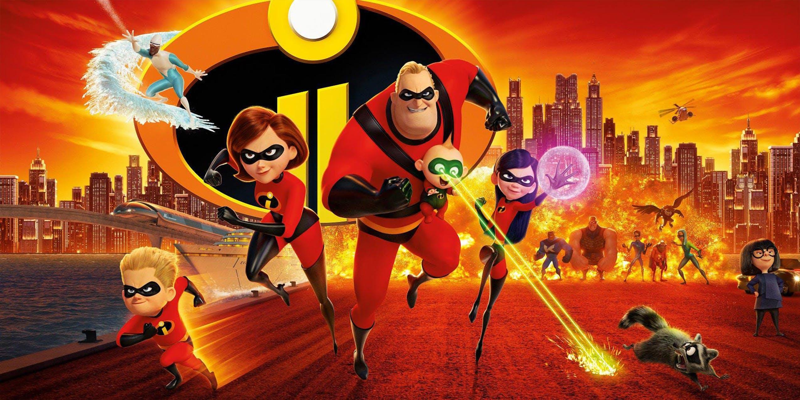 best movies disney plus incredibles