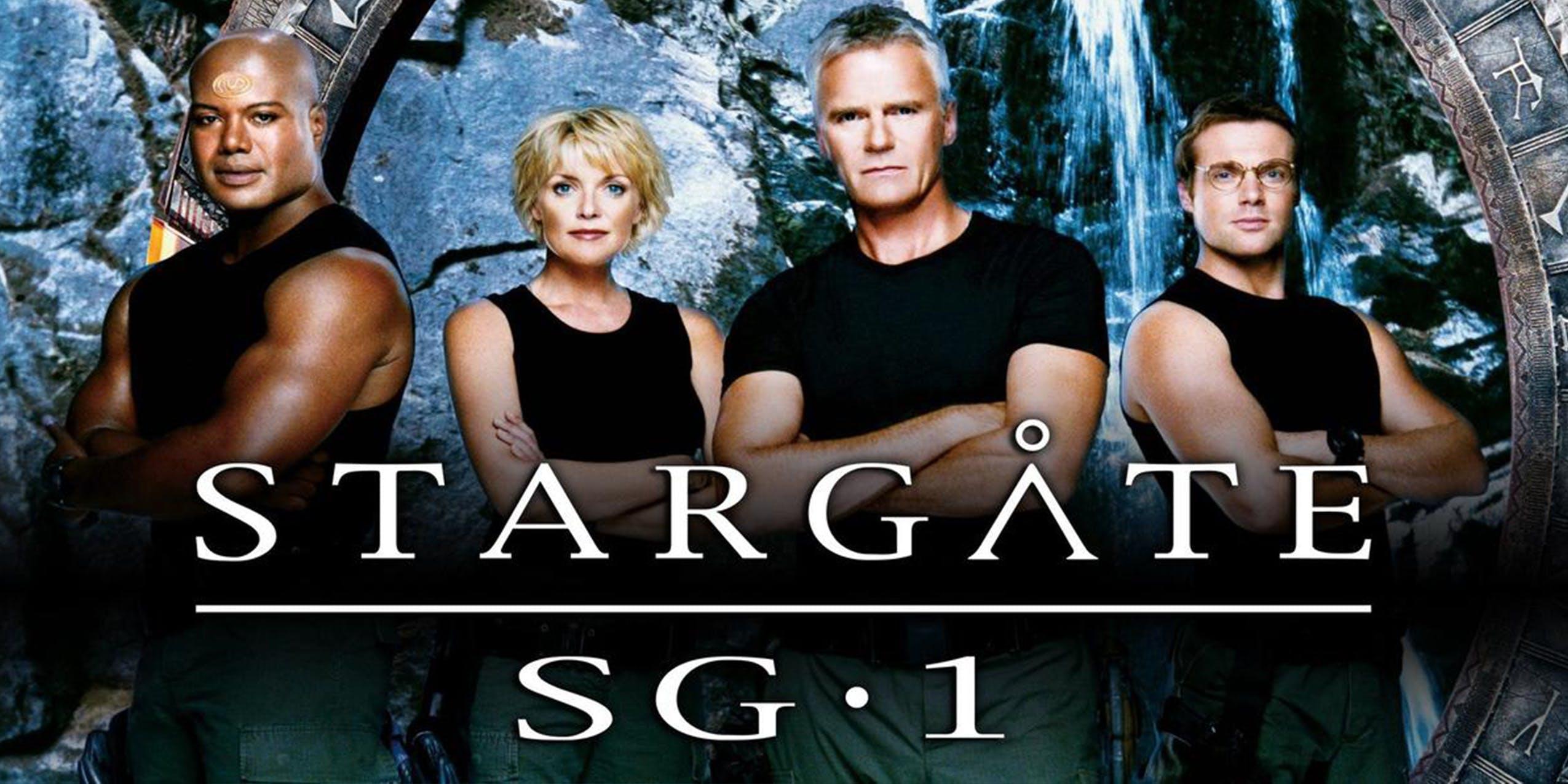 best sci fi shows hulu Stargate sg1