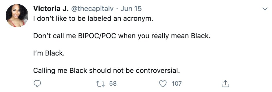 bipoc tweet thecapitalv