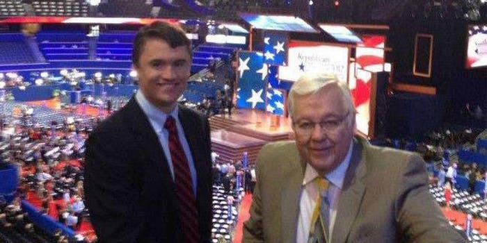 Charlie Kirk and Bill Montgomery