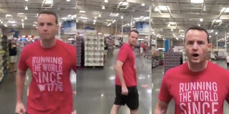 Costco Dan yelling at customer for asking him if he could wear a mask