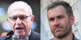 Alan Dershowitz and Mike Cernovich