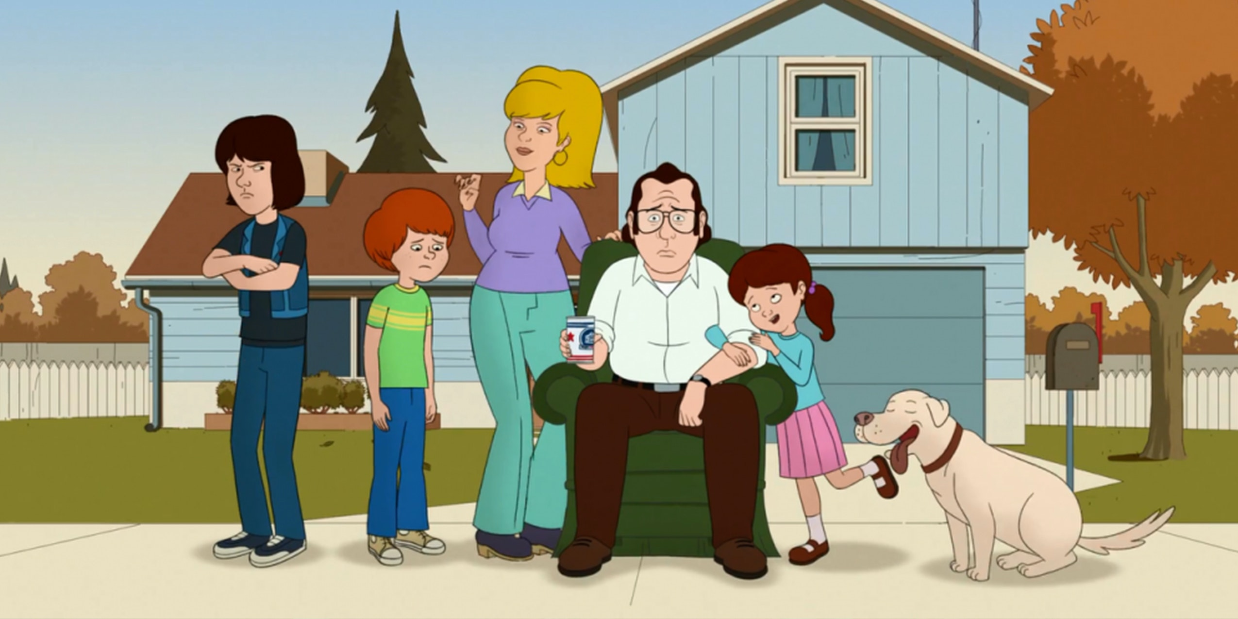 f is for family Netflix original series