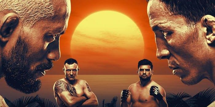 Figueiredo vs. Benavidez UFC Fight Island 2