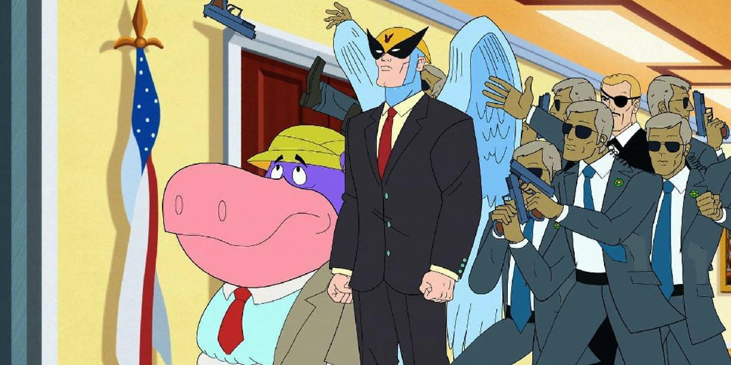 hulu best adult cartoons Harvey birdman