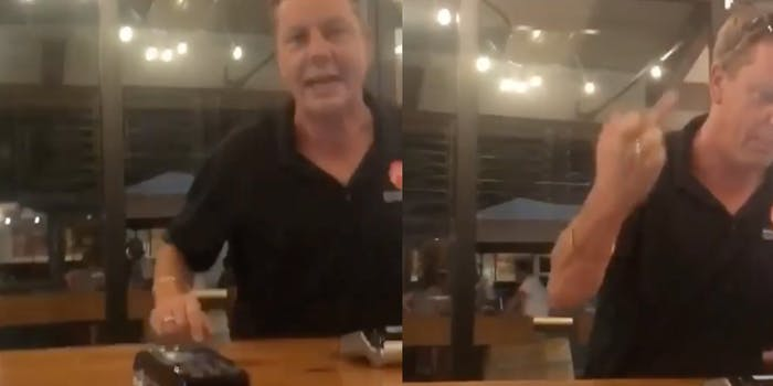 Jason Wood going on racist rant
