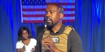 Kanye West talking about mental health