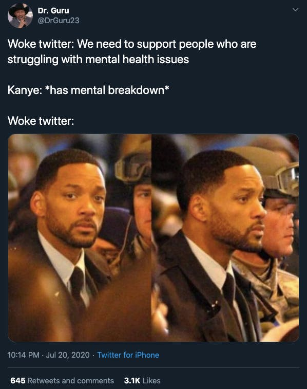 Kanye tweets reaction