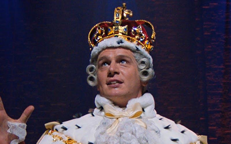 king george Hamilton play