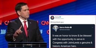 Marco Rubio john lewis