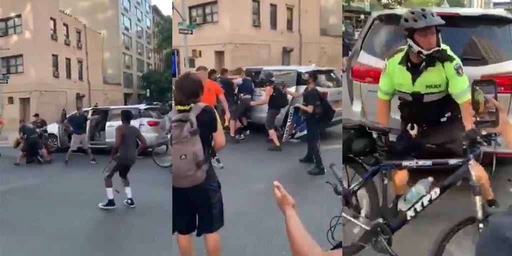 nypd arrest protester in unmarked van