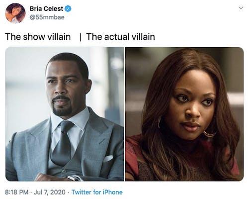 actual villain meme