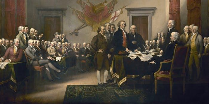 shaun king declaration of independence work
